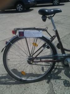 Fahrrad on tour in Heiligenhafen